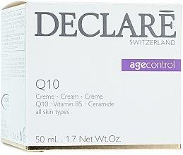 Düfte, Parfümerie und Kosmetik Straffende Anti-Aging Gesichtscreme mit Ceramiden, Vitamin B5 und Q10 - Declare Q10 Age Control Cream