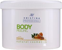 Düfte, Parfümerie und Kosmetik Körperpeeling mit Honig - Hristina Professional Honey Body Peeling