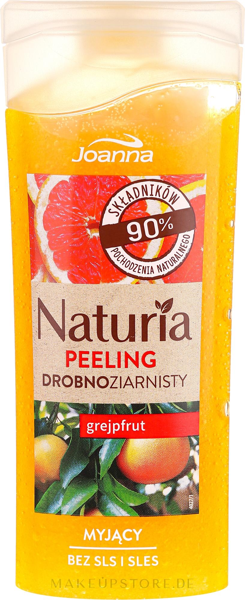 Duschpeeling mit Grapefruitduft - Joanna Naturia Peeling — Bild 100 g