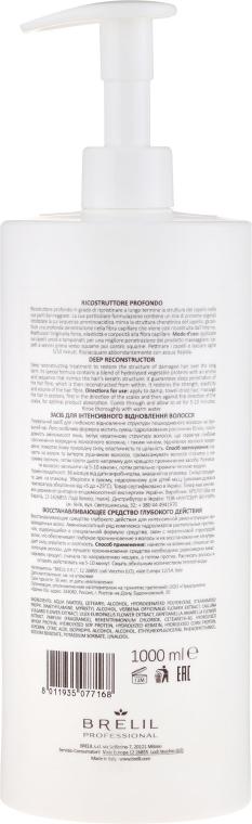 Intensiv Regenerierende Haarspülung mit Bachblüten und Keratin - Brelil Bio Traitement Reconstruction Deep — Bild N2