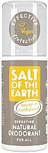 Düfte, Parfümerie und Kosmetik Natürliches Deospray - Salt of the Earth Amber & Sandalwood Natural Deodorant Spray