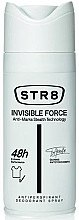 Düfte, Parfümerie und Kosmetik Deospray Antitranspirant - STR8 Invisible Force Antiperspirant Deodorant Spray