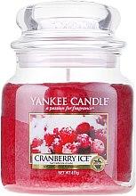 Düfte, Parfümerie und Kosmetik Duftkerze im Glas Cranberry Ice - Yankee Candle Cranberry Ice Jar