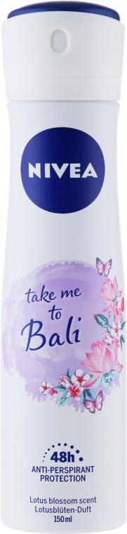 Deospray Antitranspirant - Nivea Take Me To Bali Spray — Bild N1