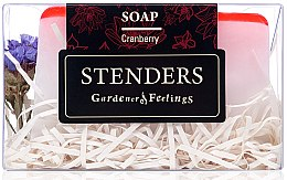 Düfte, Parfümerie und Kosmetik Seife Moosbeere - Stenders Cranberry Soap