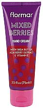 Düfte, Parfümerie und Kosmetik Handcreme Mixed Berries - Flormar Mixed Berries Hand Cream