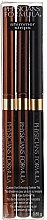 Düfte, Parfümerie und Kosmetik Augen Make-up Set (3x Kajalstift) - Physicians Formula Shimmer Strips Custom Eye Enhancing Eyeliner Trio Warm Nude Eyes