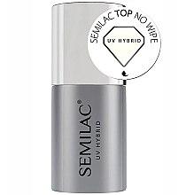 Düfte, Parfümerie und Kosmetik Top für UV Nagellacke ohne Schwitzschicht - Semilac UV Hybrid No Wipe