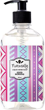 "Flüssige Naturseife ""Good Morning"" - Hristina Cosmetics Naturally Hand Soap Good Morning — Bild N1"