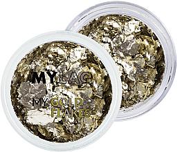 Düfte, Parfümerie und Kosmetik Nagelglitzer - MylaQ My Gold Flakes