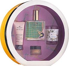 Düfte, Parfümerie und Kosmetik Gesichts- und Körperpflegeset - Nuxe Culte Prodigieux Box (Trockenes Öl 100ml + Hand- und Nagelcreme 30ml + Lippenbalsam 15ml + Duftkerze)