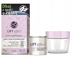 Düfte, Parfümerie und Kosmetik Straffende und festigende Anti-Falten Gesichtscreme mit Lifting-Effekt inkl. austauschbare Patrone - Floslek Lift Effect Eco Cream ( jar + removable refill)