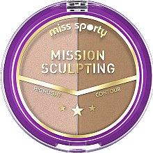 Düfte, Parfümerie und Kosmetik Konturierpalette - Miss Sporty Mission Sculpting