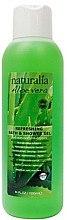 2in1 Bade- und Duschgel mit Aloe Vera - Naturalia Aloe Vera Refreshing Bath & Shower Gel — Bild N2