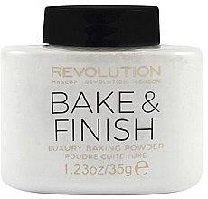 Düfte, Parfümerie und Kosmetik Gebackener Gesichtspuder - Makeup Revolution Baking Powder Bake&Finish