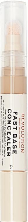 Gesichts-Concealer - Makeup Revolution Fast Base Concealer — Bild N1