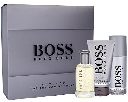 Hugo Boss Boss Bottled - Duftset (Eau de Toilette 100ml + Duschgel 150ml + Deodorant 150ml) — Bild N1