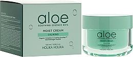 Düfte, Parfümerie und Kosmetik Feuchtigkeitsspendende Gesichtscreme mit Aloe Vera - Holika Holika Aloe Soothing Essence 80% Moist Cream