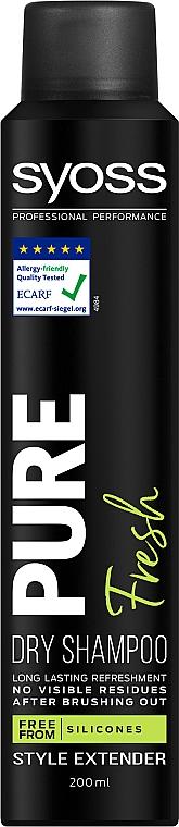 Haarpflegeset - Syoss Salon Plex (Shampoo 500ml + Haarspülung 500ml + Trockenshampoo 200ml + Kosmetiktasche) — Bild N6