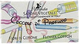 Düfte, Parfümerie und Kosmetik Handgemachte Naturseife für Kinder mit Baumwollblüten - Florinda Sapone Cotton Flower