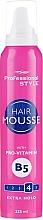 Düfte, Parfümerie und Kosmetik Haarschaum mit Provitamin B5 Starker Halt - Professional Style Extra Hold Hair Mousse