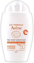 Düfte, Parfümerie und Kosmetik Sonnenschutzfluid für das Gesicht gegen Pigmentflecken SPF 50+ - Avene Eau Thermale Mineral Fluid SPF 50+