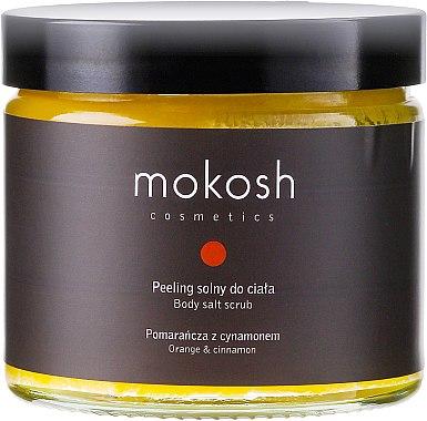 Körpersalzpeeling mit Orangen und Zimt - Mokosh Cosmetics Body Salt Scrub Orange & Cinnamon — Bild N1