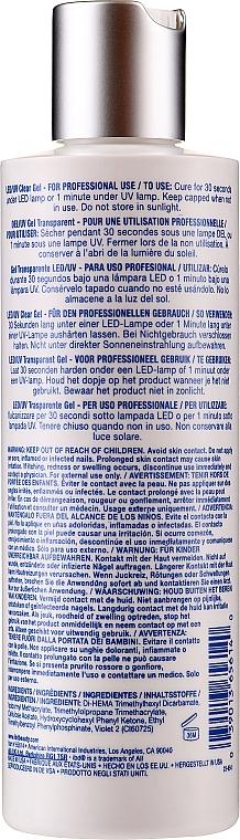 LED/UV Nagelgel transparent - IBD LED/UV Clear Gel — Bild N2