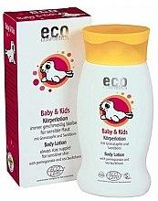 Düfte, Parfümerie und Kosmetik Körperlotion für Babys und Kinder mit Granatapfel und Sanddorn - Eco Cosmetics Baby&Kids Body Lotion