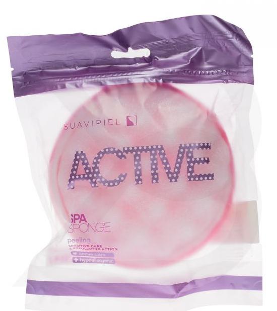 Badeschwamm rosa - Suavipiel Active Spa Sponge — Bild N1