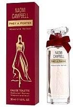 Naomi Campbell Pret a Porter Absolute Velvet - Eau de Toilette — Bild N2