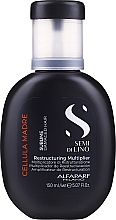 Düfte, Parfümerie und Kosmetik Restrukturierendes Konzentrat mit Arganstammzellenextrakt für strapaziertes Haar - Alfaparf Semi Di Lino Cellula Madre Restructuring Multiplier
