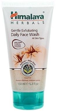 Gesichtspeeling für alle Haartypen mit Aprikose und Aloe Vera - Himalaya Herbals Gentle Exfoilating Daily Face Wash — Bild N1