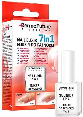 7in1 Nagelpflege - Dermofuture Precision Nail Elixir 7in1 — Bild N1