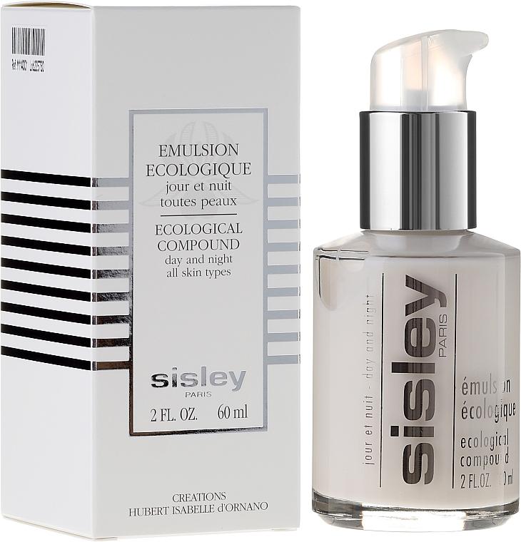 Gesichtsemulsion für Tag und Nacht für alle Hauttypen - Sisley Emulsion Ecologique Ecological Compound — Bild N1