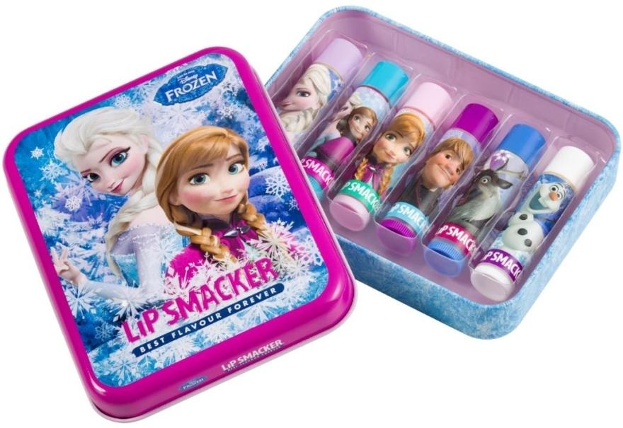 Lippenpflegeset - Lip Smacker Disney Frozen (Lippenbalsam 6x4g) — Bild N2