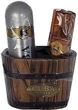 Düfte, Parfümerie und Kosmetik Cuba Gold - Set(ash/lot/100ml + deo/200ml)