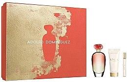 Düfte, Parfümerie und Kosmetik Adolfo Dominguez Unica Coral - Duftset (Eau de Toilette /100ml+Eau de Toilette /10ml+Körperlotion/75ml)