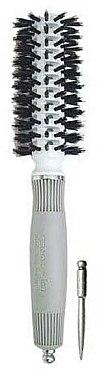 Rundbürste 22 mm - Olivia Garden Turbo Vent Boar Ceramic+ion — Bild N1