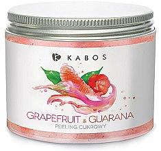 Düfte, Parfümerie und Kosmetik Zuckerpeeling für Körper mit Grapefruit und Guana - Kabos Grapefruit & Guarana Sugar Peeling
