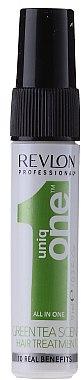 Haarmaske mit grünem Tee in Sprayform - Revlon Professional Uniq One Green Tea Scent Treatment (Mini) — Bild N1