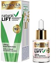 Düfte, Parfümerie und Kosmetik Feuchtigkeitsspendendes Gesichtsserum für Tag und Nacht mit Lifting-Effekt - Perfecta Natural Lift Moisturizing Serum-elixir
