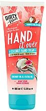 Düfte, Parfümerie und Kosmetik Handcreme mit Kokosnuss - Dirty Works Coconut Hand Cream