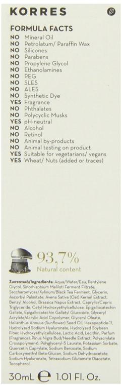 Straffendes Anti-Falten-Serum - Korres Black Pine Antiwrinkle, Firming & Lifting Serum — Bild N5
