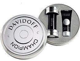 Düfte, Parfümerie und Kosmetik Davidoff Champion - Duftset (Eau de Toilette 50 ml + Duschgel 75 ml)