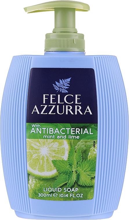Flüssigseife Minze und Limette - Felce Azzurra Antibacterico Mint & Lime — Bild N1