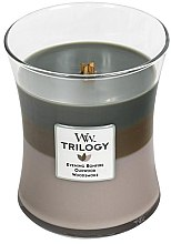 Düfte, Parfümerie und Kosmetik Duftkerze im Glas Cozy Cabin - WoodWick Hourglass Trilogy Candle Cozy Cabin