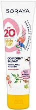 Düfte, Parfümerie und Kosmetik Wasserfeste Sonnenschutzcreme für Kinder - Soraya Kids Sun Waterproof Balm SPF20