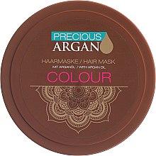 Haarmaske für coloriertes Haar - Allverne Precious Argan Color Hair Mask — Bild N1