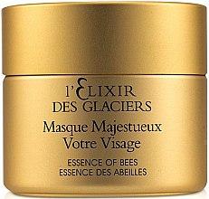 Düfte, Parfümerie und Kosmetik Regenerierende und pflegende Gesichtsmaske mit Bienenwachs und Honig - Valmont L'elixir Des Glaciers Masque Majestueux Votre Visage